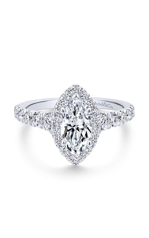 Gabriel & Co. Entwined Engagement Ring ER12765M4W44JJ product image