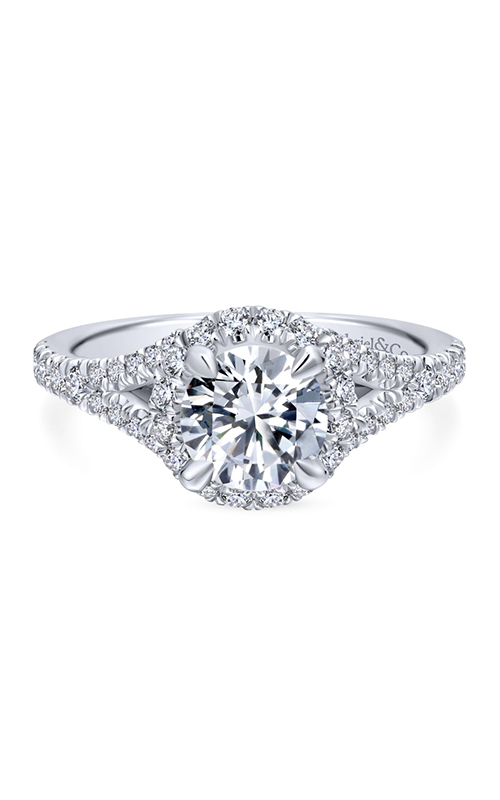 Gabriel & Co. Entwined Engagement Ring ER12766R4W44JJ product image