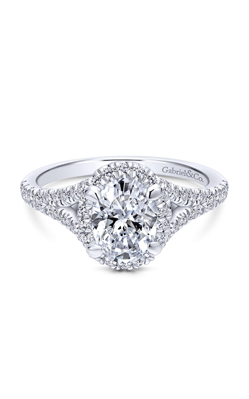 Gabriel & Co. Entwined Engagement Ring ER12769O4W44JJ product image