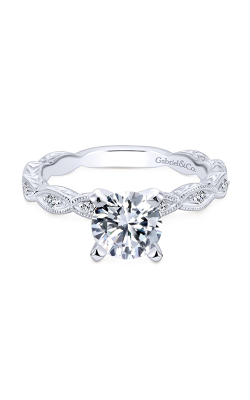 Gabriel & Co. Victorian Engagement Ring ER4122W44JJ product image