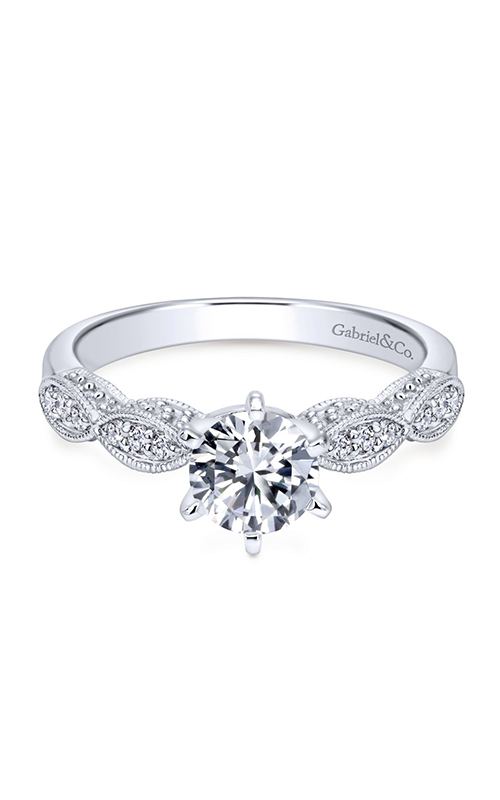 Gabriel & Co. Victorian Engagement Ring ER3848W44JJ product image