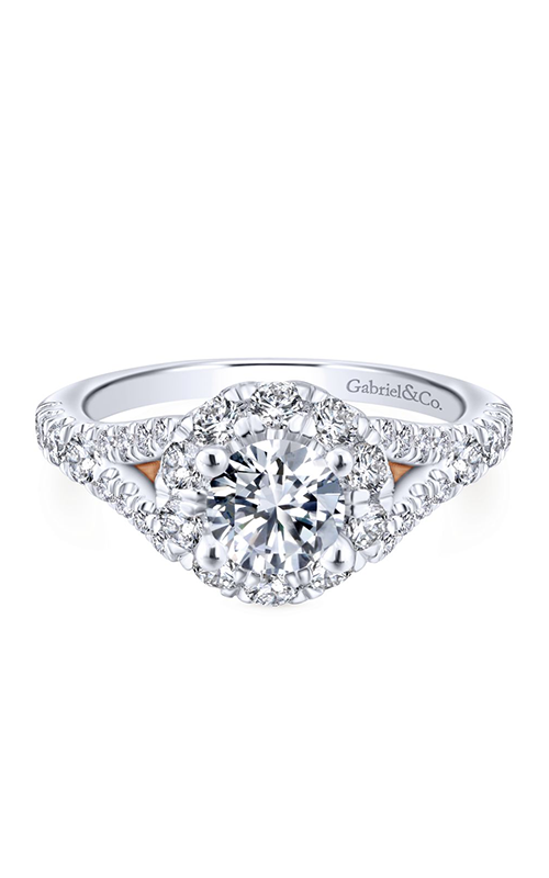 Gabriel & Co. Blush Engagement Ring ER12834R3T44JJ product image