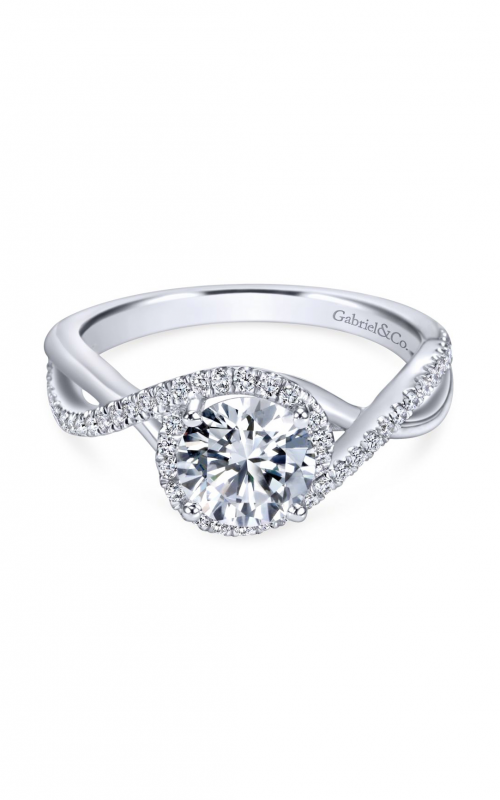 Gabriel & Co. Contemporary Engagement ring ER7804W44JJ product image