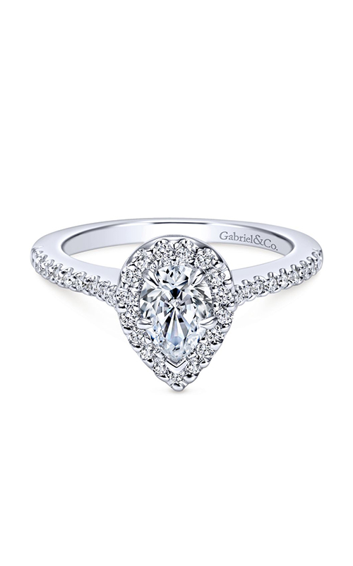 Gabriel & Co. Contemporary Engagement Ring ER5828W44JJ product image