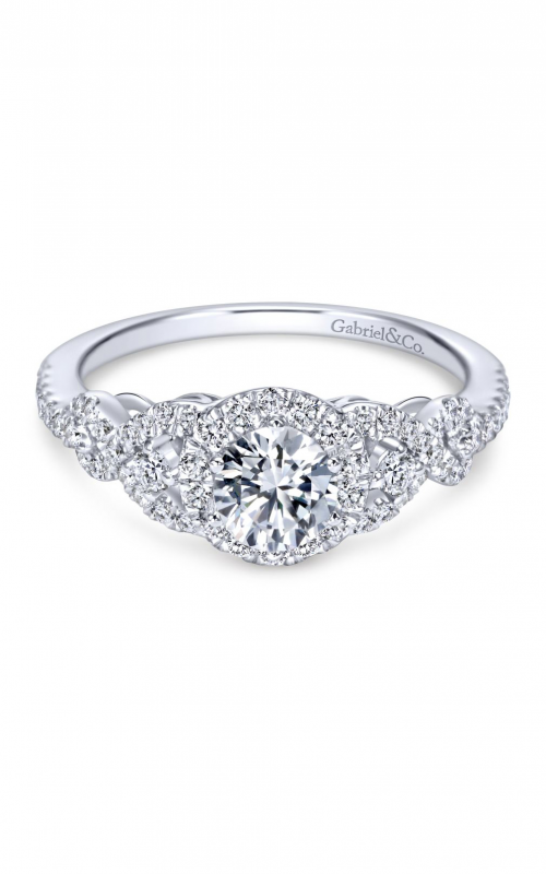 Gabriel & Co. Contemporary Engagement ring ER6951W44JJ product image