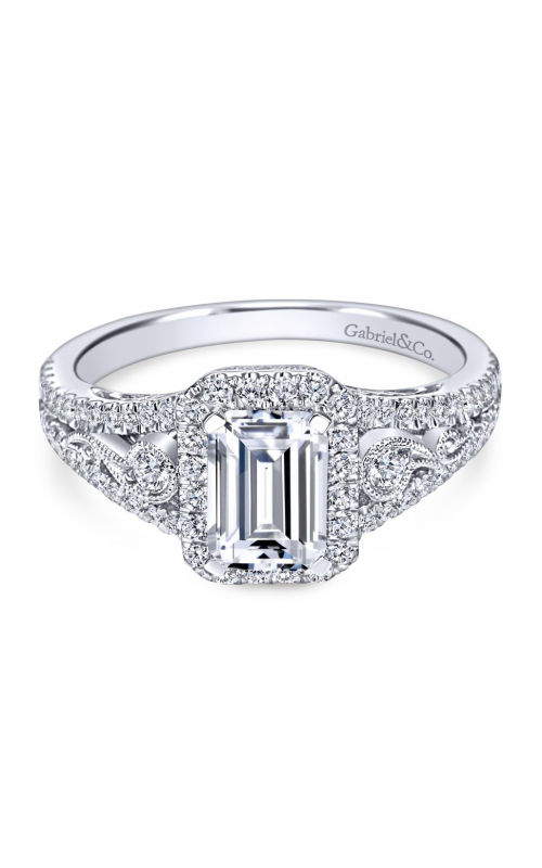 Gabriel & Co. Contemporary Engagement Ring ER7740W44JJ product image