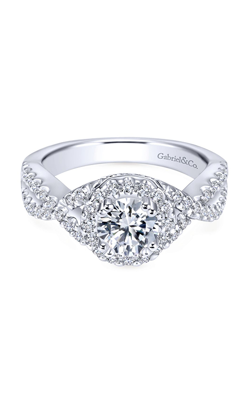 Gabriel & Co. Contemporary Engagement Ring ER5798W44JJ product image
