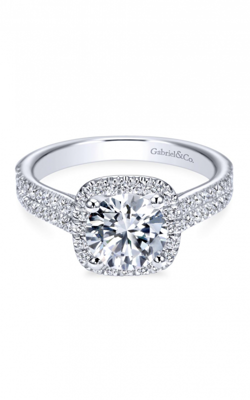 Gabriel & Co. Contemporary Engagement Ring ER6984W44JJ product image