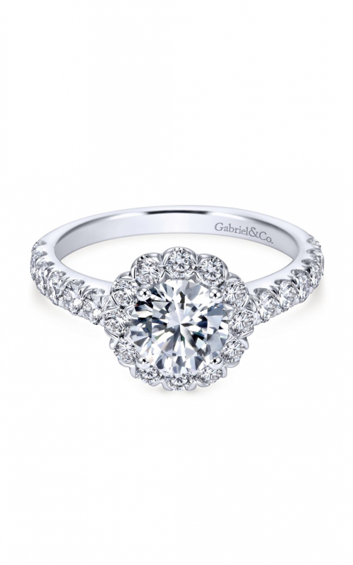 Gabriel & Co. Contemporary Engagement ring ER7292W44JJ product image
