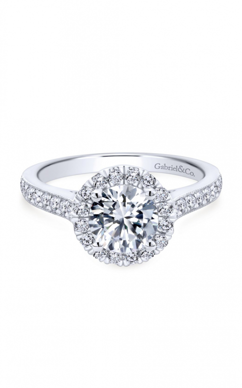 Gabriel & Co. Victorian Engagement Ring ER7278W44JJ product image