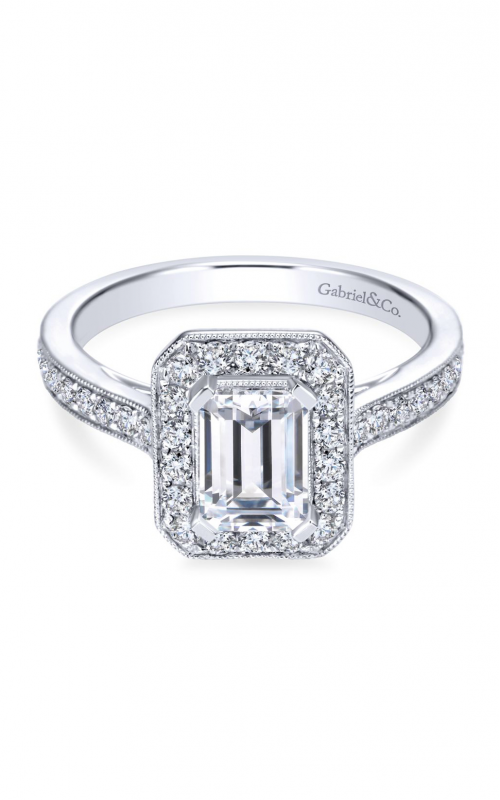 Gabriel & Co. Victorian Engagement Ring ER7528W44JJ product image