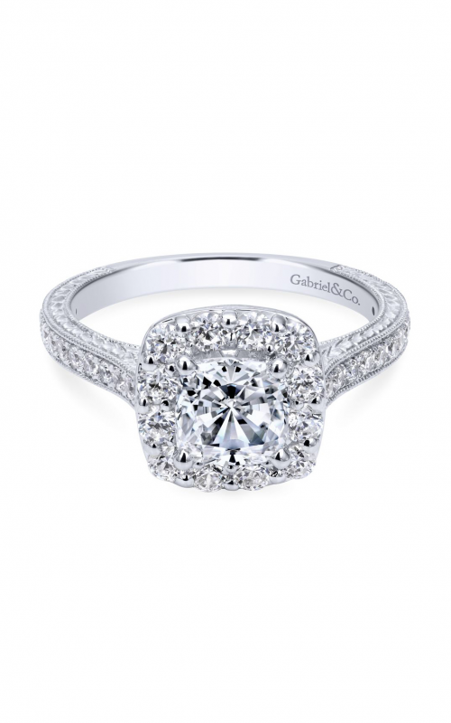 Gabriel & Co. Victorian Engagement ring ER7500W44JJ product image
