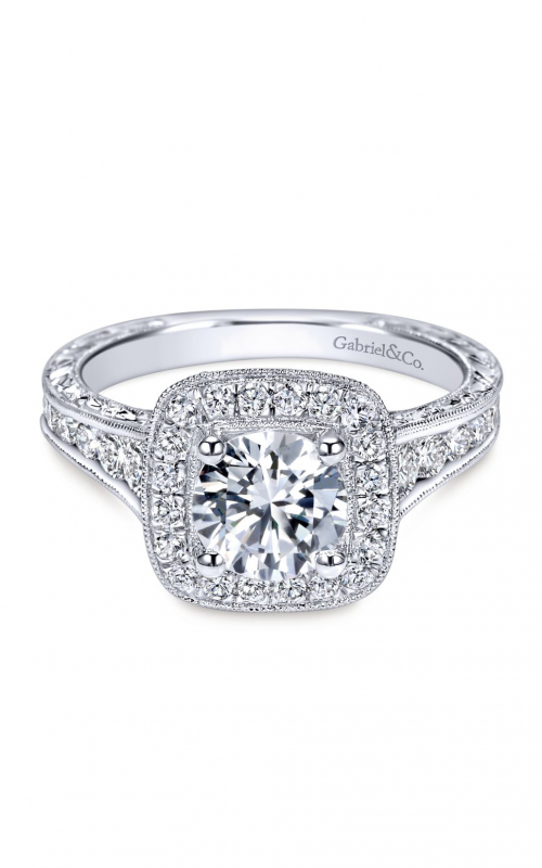Gabriel & Co. Victorian Engagement Ring ER8794W44JJ product image