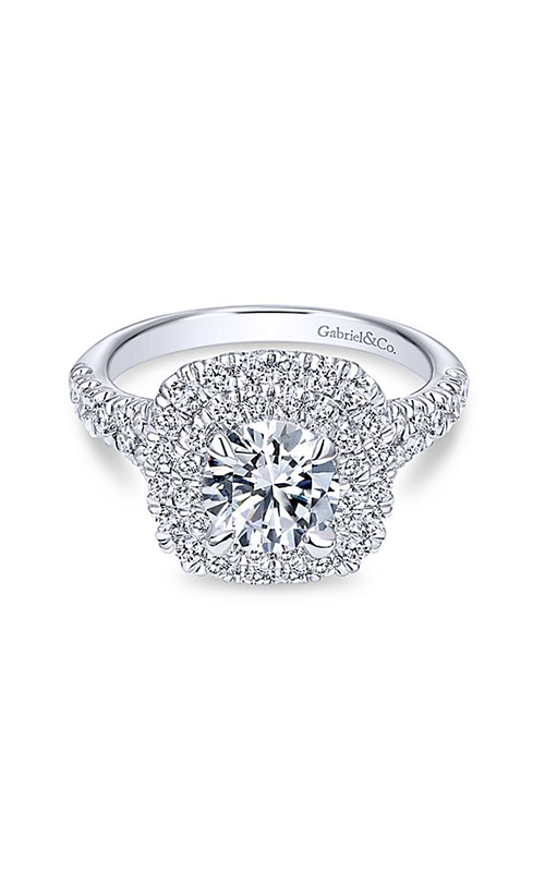 Gabriel & Co. Contemporary Engagement ring ER10754W44JJ product image