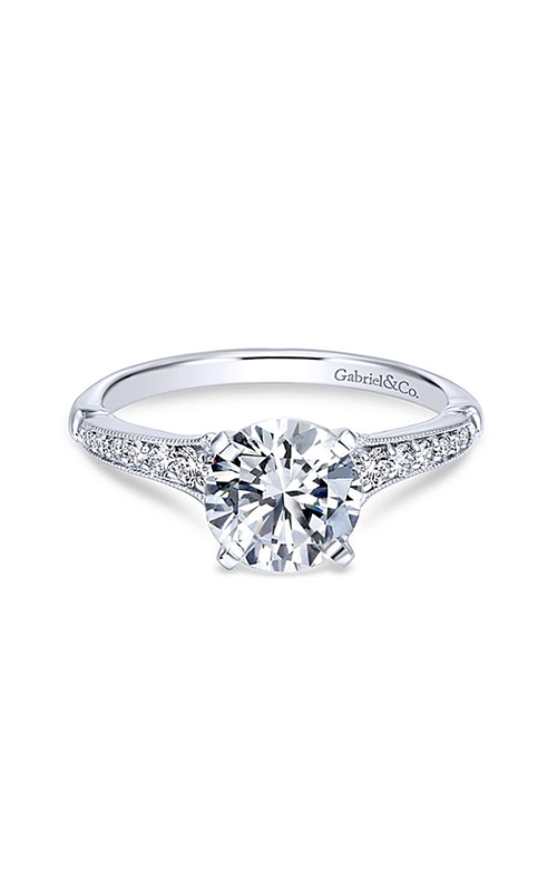 Gabriel & Co. Contemporary Engagement Ring ER11746R4W44JJ product image