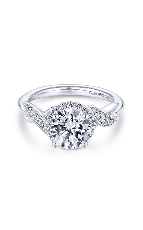 Gabriel & Co. Contemporary Engagement Ring ER11828R4W44JJ product image