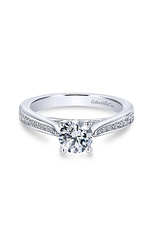 Gabriel & Co. Contemporary Engagement Ring ER12318R3W44JJ product image