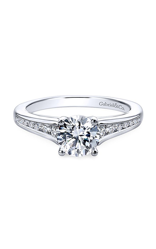Gabriel & Co. Contemporary Engagement Ring ER12324R3W44JJ product image