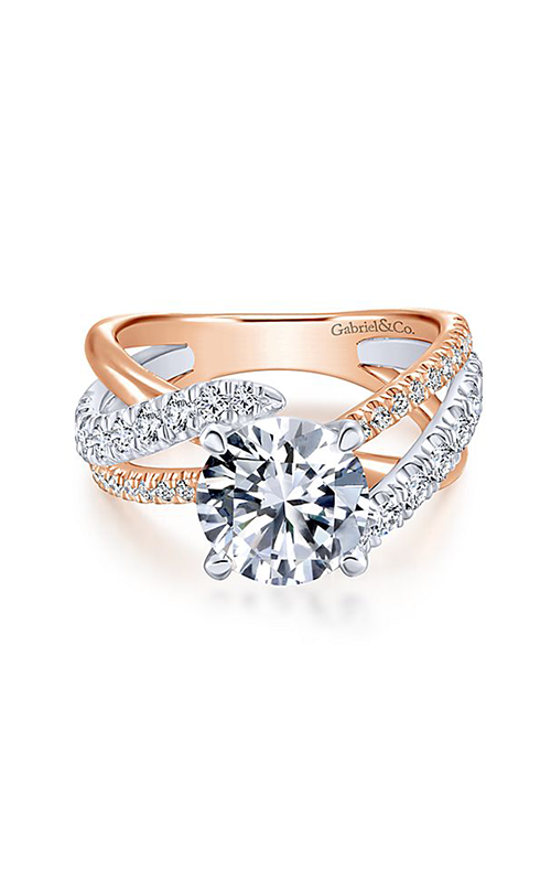 Gabriel & Co. Contemporary Engagement ring ER12337R6T44JJ product image