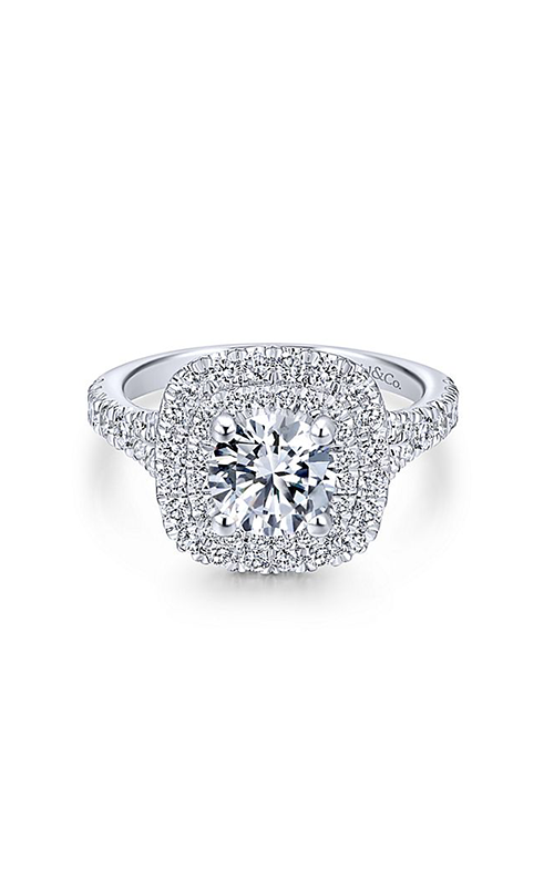 Gabriel & Co. Entwined Engagement ring ER12675R4W44JJ product image