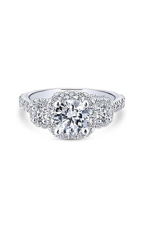 Gabriel & Co. Entwined Engagement ring ER12810R4W44JJ product image
