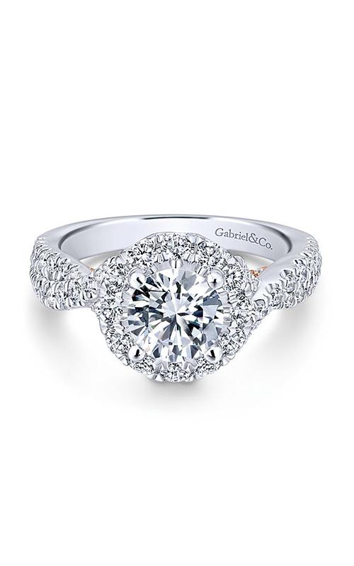 Gabriel & Co. Blush Engagement Ring ER12822R4T44JJ product image