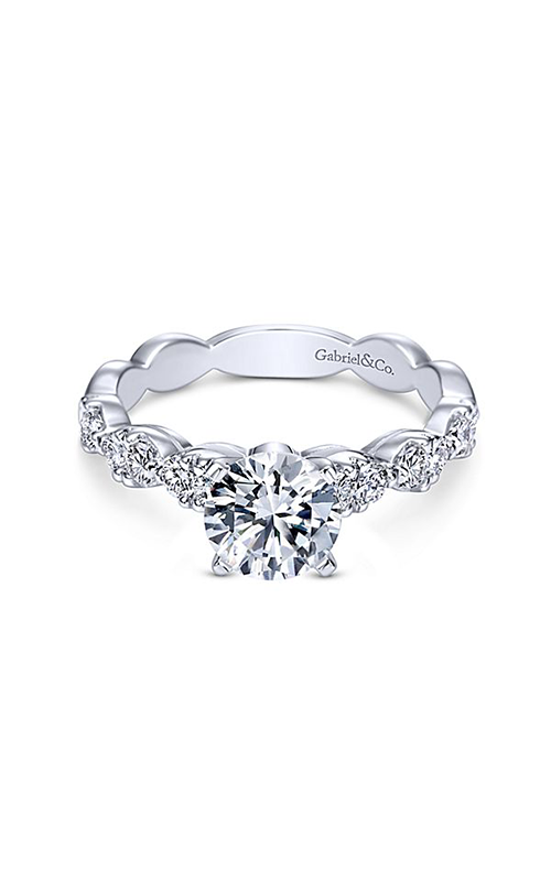 Gabriel & Co. Contemporary Engagement Ring ER3990W44JJ product image