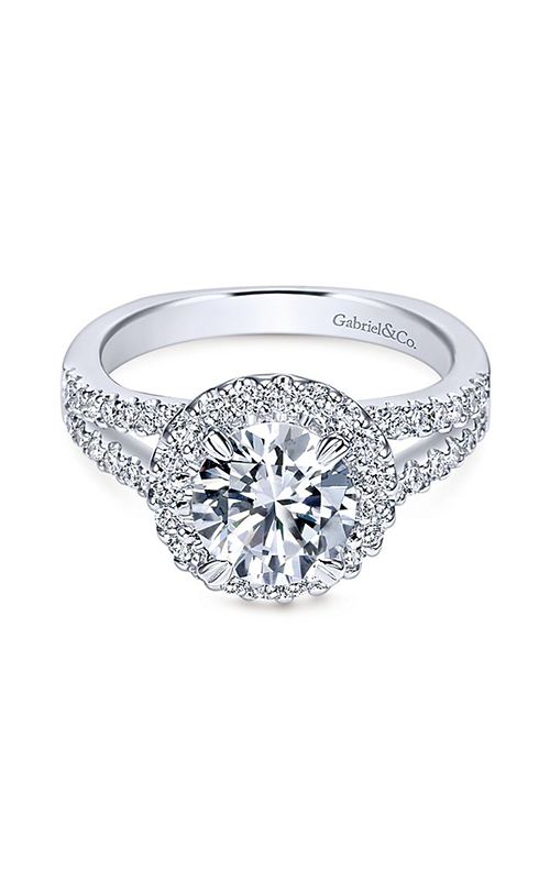 Gabriel & Co. Contemporary Engagement Ring ER4112W44JJ product image
