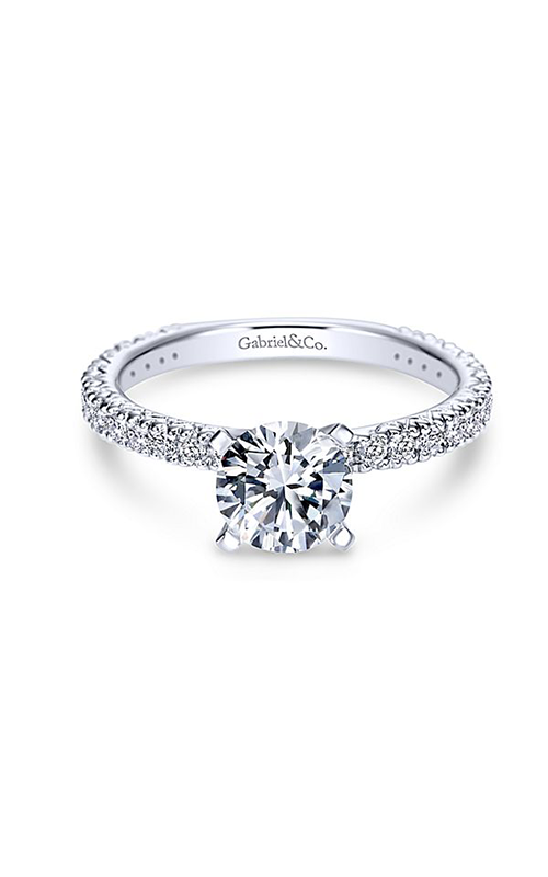 Gabriel & Co. Contemporary Engagement Ring ER4126W44JJ product image