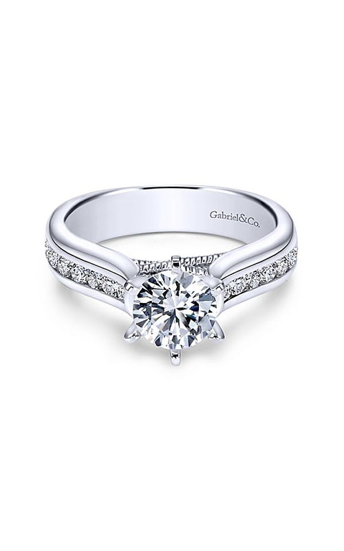Gabriel & Co. Contemporary Engagement Ring ER4185W44JJ product image