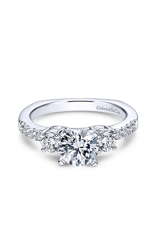 Gabriel & Co. Contemporary Engagement Ring ER4247W44JJ product image