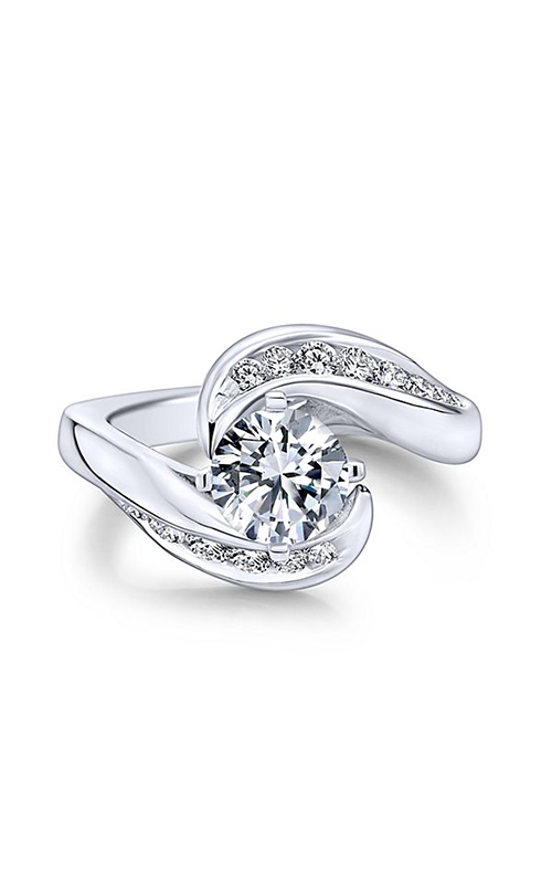 Gabriel & Co. Contemporary Engagement Ring ER4309W44JJ product image