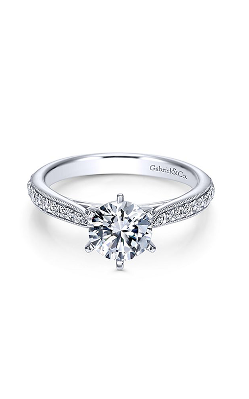 Gabriel & Co. Contemporary Engagement Ring ER6687W44JJ product image