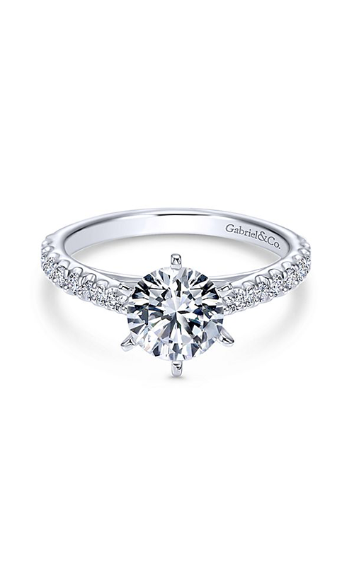 Gabriel & Co. Contemporary Engagement Ring ER6692W44JJ product image