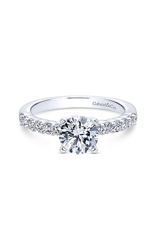 Gabriel & Co. Contemporary Engagement Ring ER6874W44JJ product image