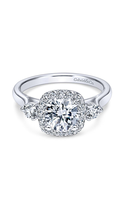 Gabriel & Co. Contemporary Engagement Ring  ER7510W44JJ product image