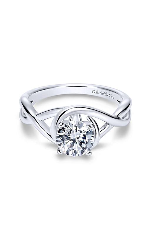 Gabriel & Co. Contemporary Engagement Ring ER9179W4JJJ product image