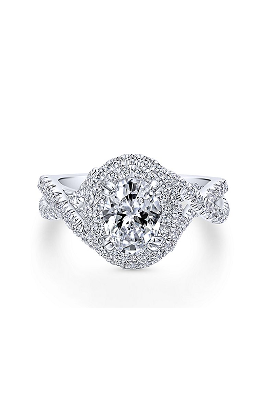Gabriel & Co. Contemporary Engagement Ring ER12638O4W44JJ product image