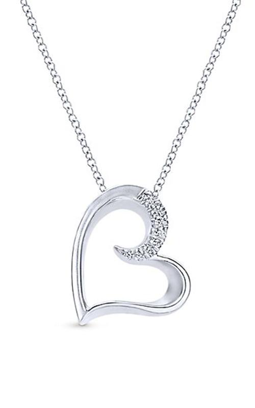 Gabriel & Co. Eternal Love Necklace NK4001SVJWS product image