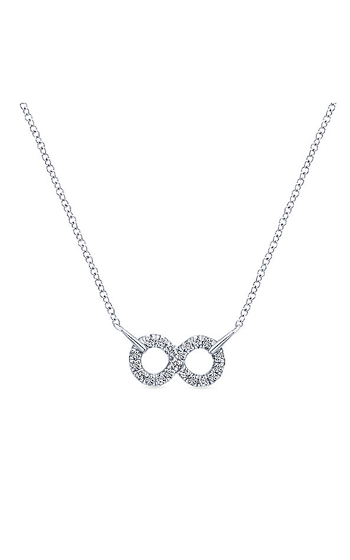 Gabriel & Co. Eternal Love Necklace NK4317SVJWS product image