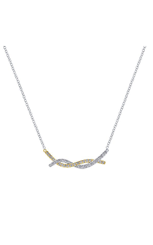 Gabriel & Co. Contemporary Necklace NK5325M45JJ product image