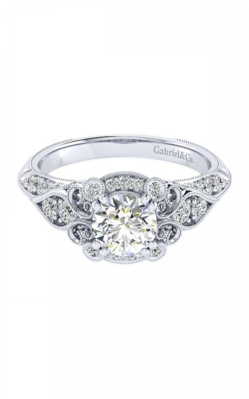 Gabriel & Co. Victorian Engagement Ring ER11865R4W44JJ product image