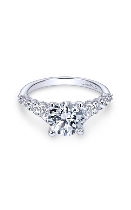 Gabriel & Co. Contemporary Engagement Ring ER11757R6W84JJ product image