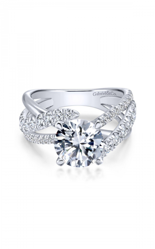Gabriel & Co. Contemporary Engagement Ring ER12337R6PT4JJ product image