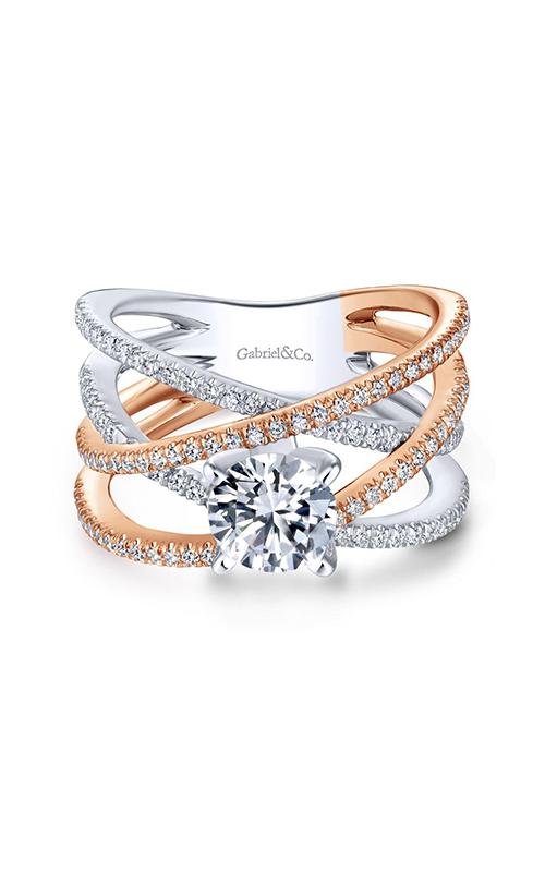 Gabriel & Co. Nova Engagement ring ER13846R4T84JJ product image