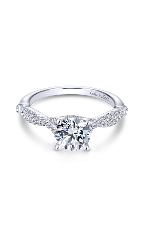 Gabriel & Co. Contemporary Engagement ring ER13859R4W84JJ product image