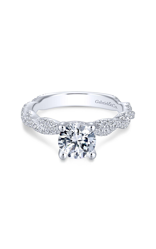 Gabriel & Co. Contemporary Engagement ring ER13878R4W44JJ product image