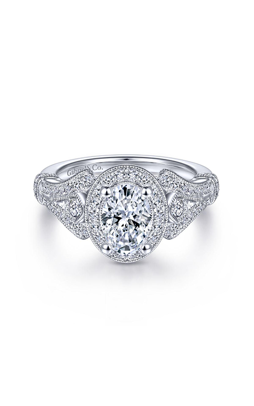 Gabriel & Co. Victorian Engagement ring ER14306W44JJ product image