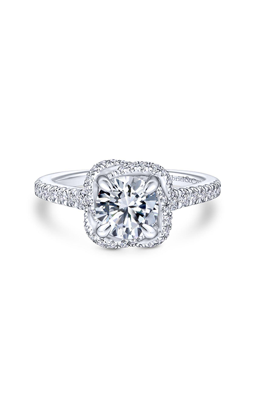 Gabriel & Co. Contemporary Engagement Ring ER14412R4W44JJ product image
