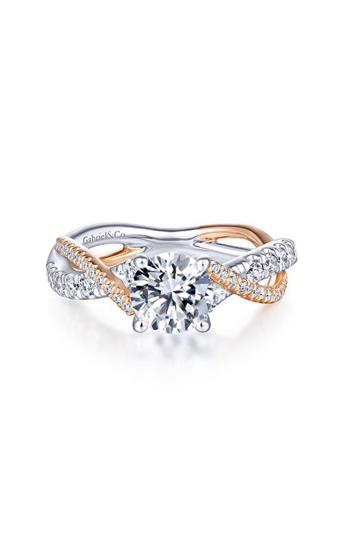Gabriel & Co. Contemporary Engagement Ring ER14460R4T44JJ product image
